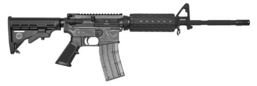 Bushmaster 90978 C22 M4 Carbine SA 22LR 16 25+1 Poly Rcvr 6-Pos Stk Black