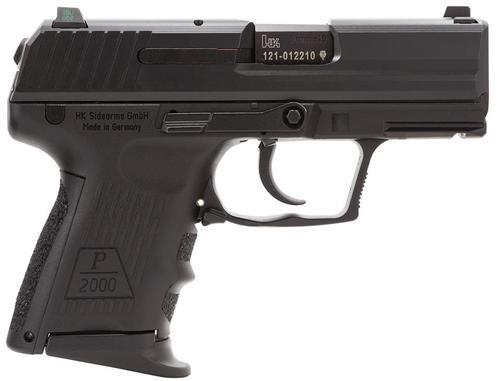 HK P2000 SK (V2) LEM DAO, three 10rd magazines and night sights