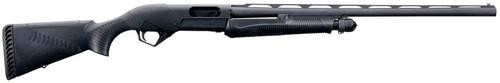 "Benelli Super Nova Pump-Action 12 Ga, 24"" Barrel, 3.5"", Blued, Black, 4rd"