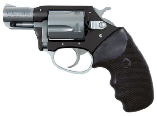 """Charter Arms Undercover Lite Black Std, .38 Special +P, 2"""", Black/Stainless"""