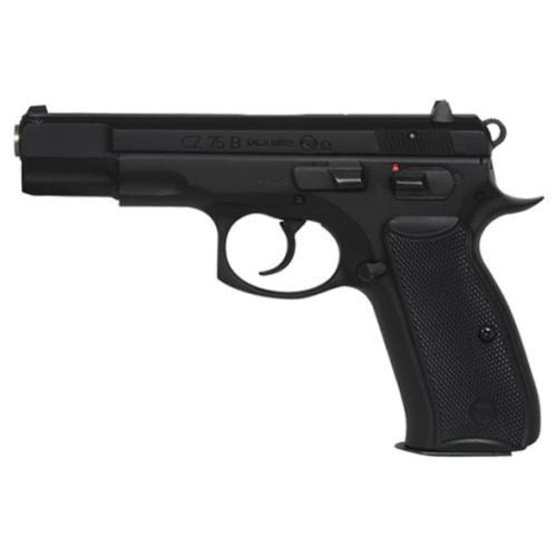 """CZ 75 B Omega 9mm, Black, 10rd, FS, 4.7"""""""