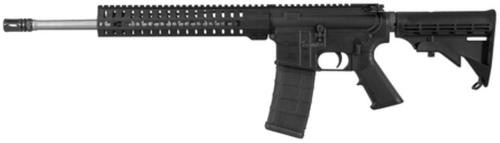 """CMMG MK4 T .300 AAC Blackout 16"""" Barrel RKM11 KeyMod Hand Guard Mil-Spec M4 Butt Stock Black 30rd Mag"""