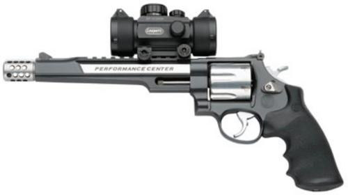 "Smith & Wesson 629 Performance Center 44 Rem Mag, 7.5"", 6rd, W/Red Dot Sight"