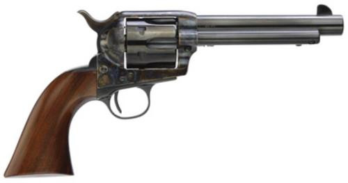 "Taylor's 1873 Cattleman Gunfighter 357Mag 5.5"" 6rd Wood Grip Blued"