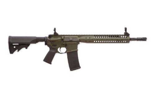 """LWRC Improved Carbine SPR 5.56/223 16"""" Helical Fluted Barrel Olive Drab Green 30rd Mag"""