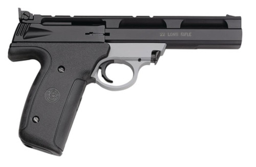 Smith and Wesson 22A 22LR, 5.5 Inch, Adjustable Sights, Black/Gray Finish