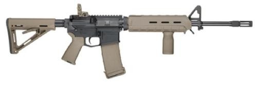 Smith & Wesson SW M&P15 5.56, Magpul MOE Mid Length, Flat Dark Earth, 30 Round Mag