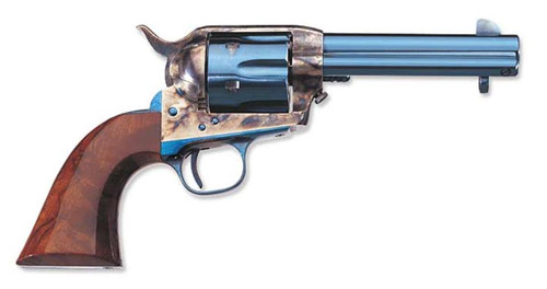 Uberti 1873 Cattleman OM Charcoal Blue, Cavalry Markings, .45 Colt, 7.5""
