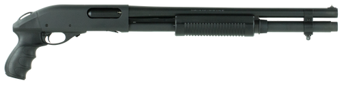 "Remington 870 12 Ga, 18"" Barrel, 7rd, Pistol Grip"