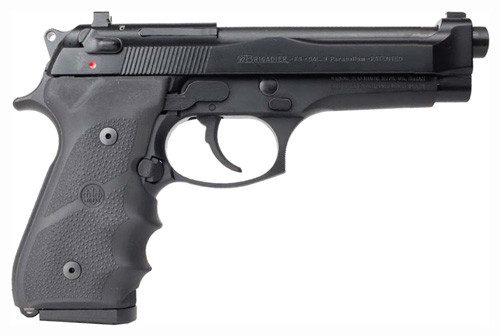 "Beretta 92FS Brigadier 9MM 5"" Barrel, Black, 15 rd Mags"