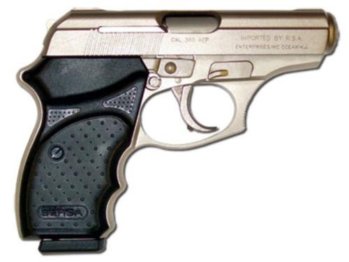 BERSA THUNDER .380 Concealed Carry, Matte Nickle Finish