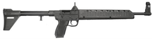 Kel-Tec SUB-2K9SW59 SUB-2000 SA 9mm 16.1 10+1 Uses S&W 59 Mag Syn Stk Black