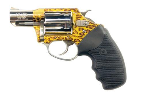 """Charter Arms Leopard Undercover Lite, .38 Special, 2"""", 5rd, Leopard Print"""