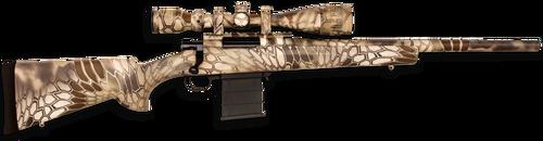 "Howa Rifle Package 308 20"" Heavy Barrel 4-16x44mm Scope Full Dip Camo"