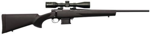 "Howa Mini Action/Panamax Package .222 Remington 22"" Standard Blued Barrel Black Synthetic Stock Nikko Stirling Panamax 3-9x40mm Riflescope 10rd"