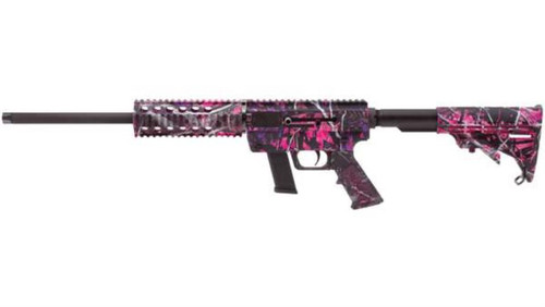 """Just Right Carbines Gen3 9mm 17"""" Muddy Girl Camo Finish 17rd Glock Compatible Magazine"""