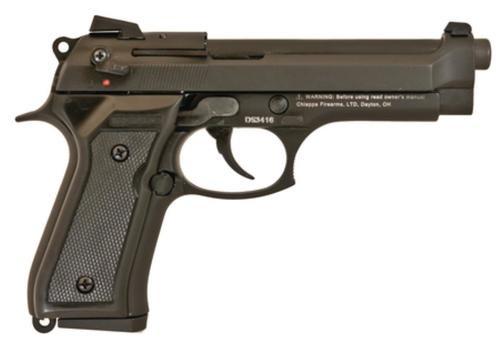 "Chiappa M9-22 Standard 22LR 5"" Barrel, Black, Black Plastic Grips, 10 Rnd Mag"