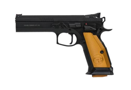 "CZ 75 Tactical Sport Orange, 9mm,, , 5.4"",  10 rd"