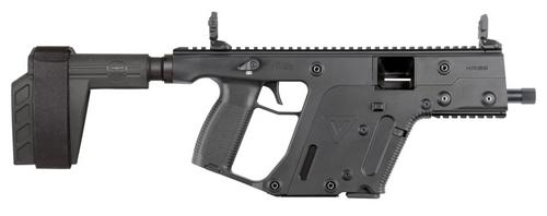 "Kriss Vector SDP-SB 9mm, 5.5"" Barrel, SBX-K Brace, Black, Glock Style Mags, 17rd"