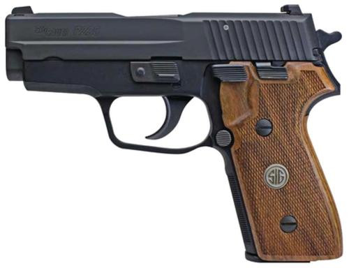 "Sig P225-A1 Classic 9mm 3.6"" Barrel Night Sights Hardwood Grip 8 Rd Mag"