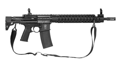 "Troy Alpha Carbine 5.56/223 14.5"" Barrel, Flash Hider (16"" OAL), PDW Stock, 30 Round Mag"