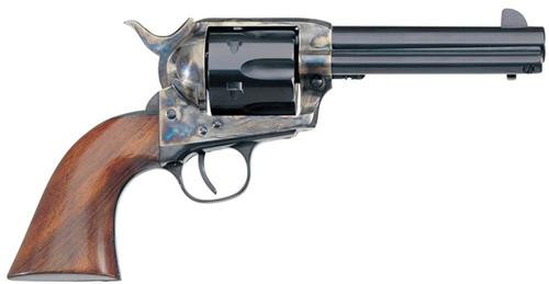 "Taylor's 1873 Single Cattleman .45LC 4.75"", Walnut Grip Blued, CH Frame, 6rd"