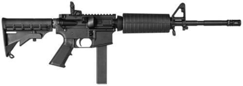 "CMMG MK9 LE 9mm 16"" M4 Barrel 2 Piece Hand Guard M4 Butt Stock, 32rd Mag"