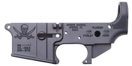 Spikes Lower Receiver Stripped -, Calico Jack Logo