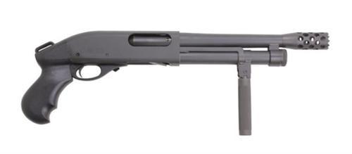 "Serbu Super Shorty, Remington 870 Breacher 12 Ga, 9"", 3"" Chamber,, ,  3 rd"