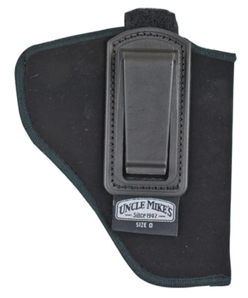 Uncle Mike's, Nylon Inside the Pant Holster, With Strap, Size 10, Small Auto With, Left Hand, Black