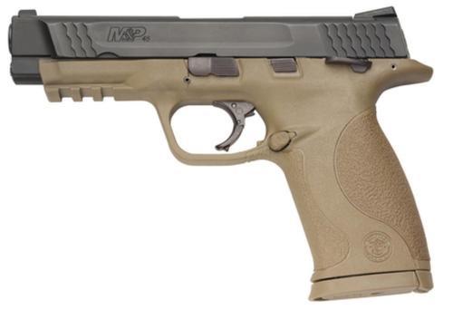 Smith & Wesson MP45 45 ACP Dark Earth Frame, Fixed Sights, 10 Rnd Mag