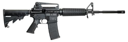 "Smith & Wesson MP15 Tactical 5.56/223, 16"" Chrome Lined Barrel, 1/7 Twist, Detachable Rear Sight, 30rd"