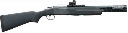 "Stoeger Double Defense O/U, 20g 20"" Barrel,  Black-Finished Walnut Stock, Green Fiber Optic Front Sight"