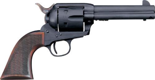 "Uberti 1873 Cattleman Chisolm, 45 Colt, 4.75"", Checkered Walnut"