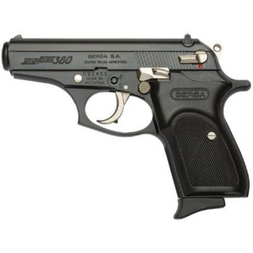 Bersa Thunder .380 Matte Finish With Nickel Accents