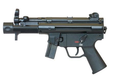 "HK SP5K Semi-Auto Pistol, 9mm, 4.53"", Black, 10rd"
