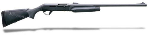 "Benelli Super Black Eagle II 12 Ga, 24"" Barrel, Black Synthetic Comfortech, Adj. Rifle Sight, 3rd"