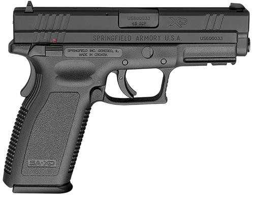 """Springfield XD Full Size With Thumb Safety 45 ACP 4"""" Barrel Black 10rd"""