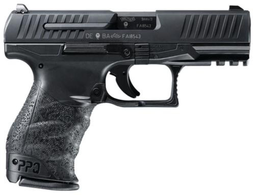 "Walther PPQ Classic 9mm 4"" Black 15 Round, 2 Mags"