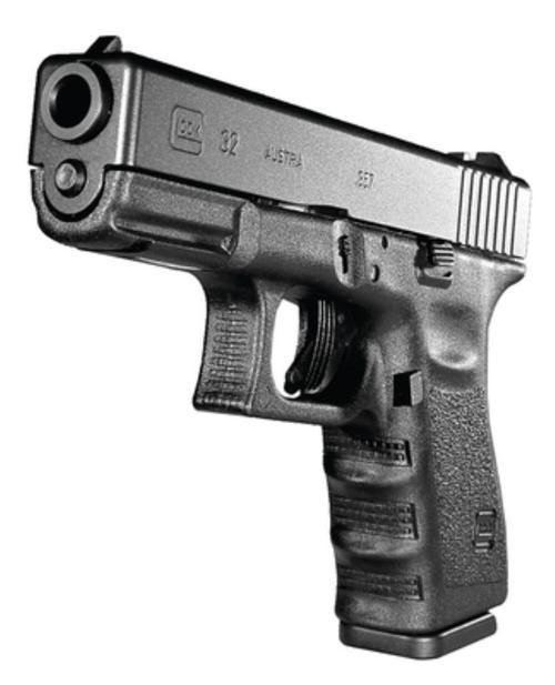 """Glock 01 G32 Standard 357 Sig Sauer 4.02"""" Barrel, FS Poly Grip/Frame Black, 10rd"""