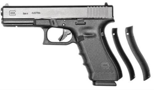 "Glock 17 Gen4 Striker Fired, Full Size, 9MM, 4.49"" Barrel, Polymer Frame, Matte Finish, Fixed Sights, 3x 17Rd Mags"