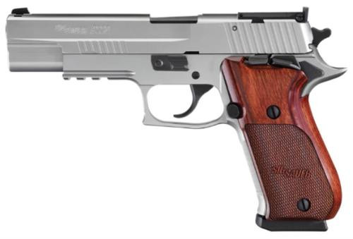 "Sig P220 SS Elite 10mm 5"" Barrel Rosewood Grips 8rd Mags"