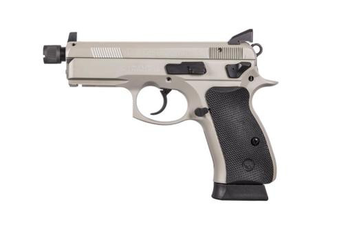 CZ P-01 Omega, 9mm, Urban Grey, Suppressor Ready, NS,, , Swappable Safety/Decocker,  16 rd