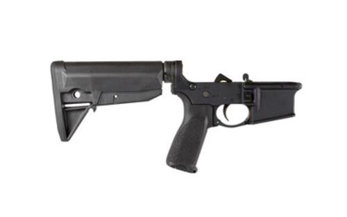 Bravo Company AR-15 Complete Lower 223/556, Black, GF Stock Mod 0, Fire Controls Marked SAFE/SEMI