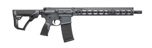 "Daniel Defense DDM4 v11 Carbine 5.56 16"" Barrel KeyMod System SLiM Rail Tornado Gray Cerakote 30rd Mag"