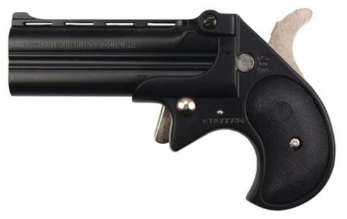 Cobra Long Bore .38 Special 3.5 Inch Barrel Black Finish Black Grips