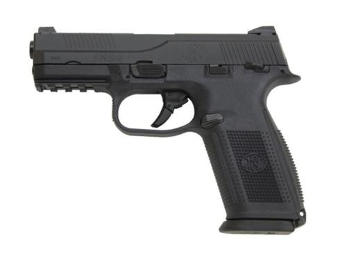 """FN FNS-9 9mm 4"""" Fixed 3-Dot Sights, 3- 17 Round Mags!"""