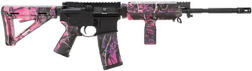 "Windham AR-15 SRC SA 223/5.56 16""Barrel, Muddy Girl Camo, MOE, 30 Rd Mag"