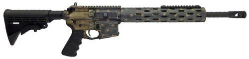 "Colt Competition Rifle,, .223/5.56, 16"", Battle Flag Finish, 30rd"