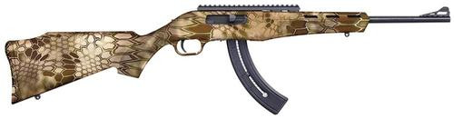 "Mossberg Blaze Rifle, 22LR, 16.5"", 25rd, Adjustable Sights, Krytec Highlander Camo Finish"